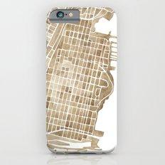 Hoboken New Jersey city map Slim Case iPhone 6s