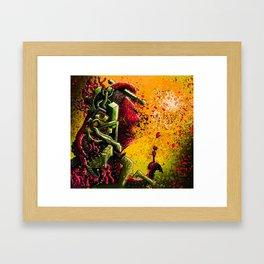 Small-fry Framed Art Print