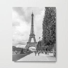 Paris- Eiffel Tower Metal Print