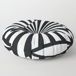 Optical Art Triangle Floor Pillow