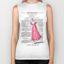 Regency Fashion Plate 1819, La Belle Assemblee Biker Tank