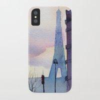 paris iPhone & iPod Cases featuring Paris by Emma Reznikova