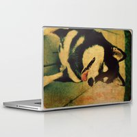 best friend Laptop & iPad Skins featuring Best friend by Truly Juel
