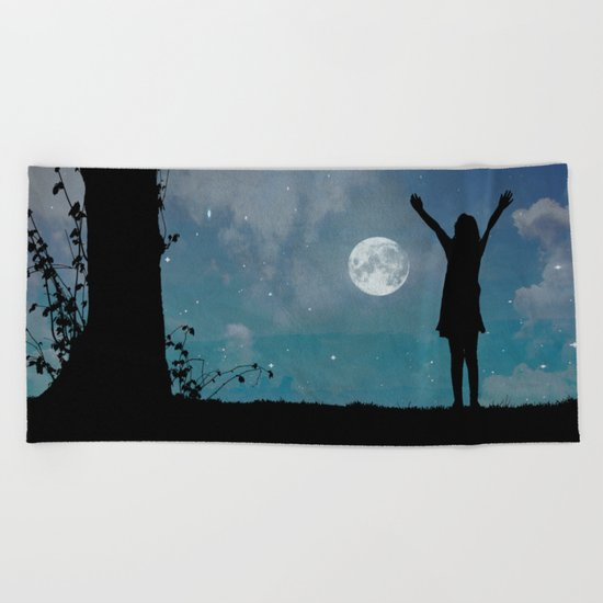 Top of the World Beach Towel