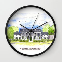 Mississippi State - Scenes Around Campus Wall Clock
