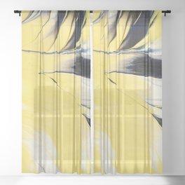 Hello  Yellow ! Sheer Curtain