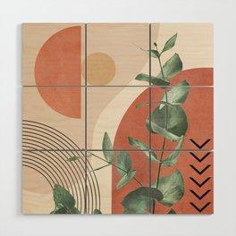 Nature Geometry IV Wood Wall Art