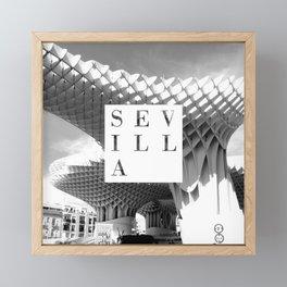 Sevilla Framed Mini Art Print