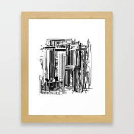 Abstract City #2 Framed Art Print