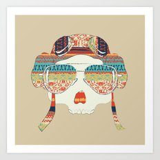 Retro Aviator Art Print