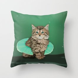 Glamourpuss Throw Pillow