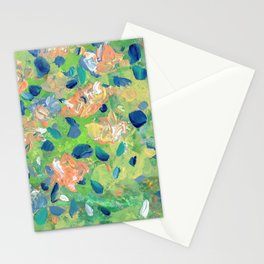 Just Because - Abstract floral Stationery Cards