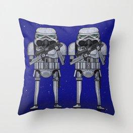 star storm fighter Throw Pillow