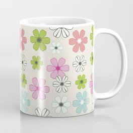 Graphic flowers: Oxonian flowers Coffee Mug