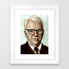 Steve Martin Framed Art Print