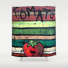 Tomato Shower Curtain