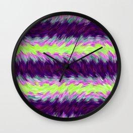 Purple Fur Wall Clock