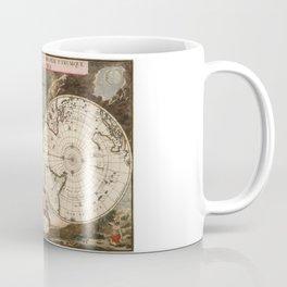 Novus Planiglobii terrestris per utrumque polum conspectus Coffee Mug