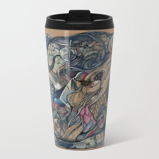 mind-face Metal Travel Mug