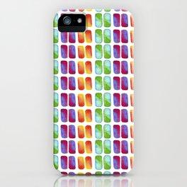 Color pops in Watercolor iPhone Case