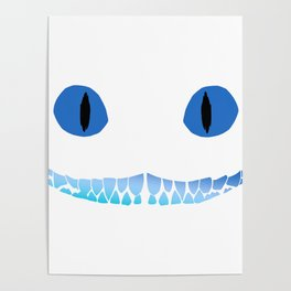 Cheshire Smile Poster