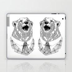 Mr  Bear Laptop & iPad Skin