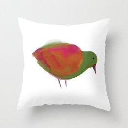 Oiseau1 Throw Pillow