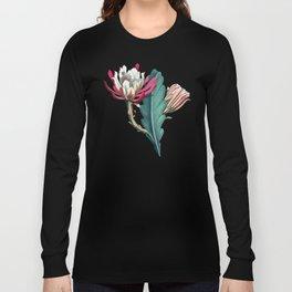 Flowering cactus IV Long Sleeve T-shirt
