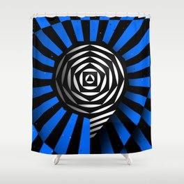 Number «9» Shower Curtain