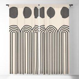 Minimal Geometric 69 Blackout Curtain