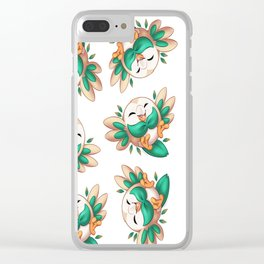 Alola! ~ Rowlet Clear iPhone Case