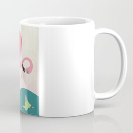 Flamingo had ice cream Coffee Mug