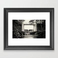 The Overflow Framed Art Print
