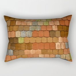 Up on the Roof Rectangular Pillow