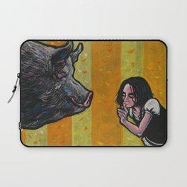 Shh, piggy! Laptop Sleeve