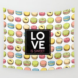 Love is sweet. Wall Tapestry
