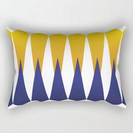 Mid Century Muse: Diamonds Rectangular Pillow