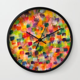 cities at dawn Wall Clock