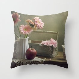 In the spring mood Throw Pillow