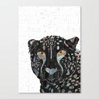 cheetah Canvas Prints featuring Cheetah by  Steve Wade ( Swade)