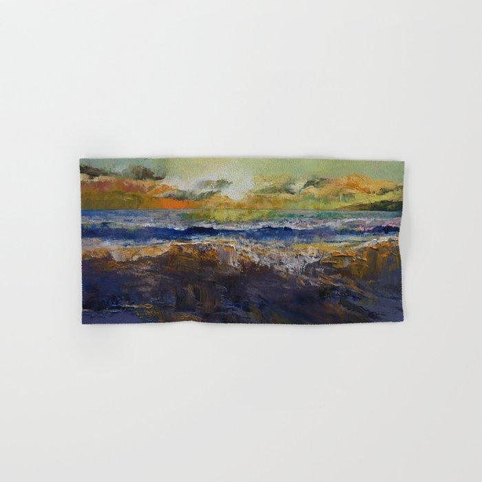 California Waves Hand & Bath Towel