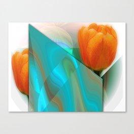 Tulip Sunrise Canvas Print