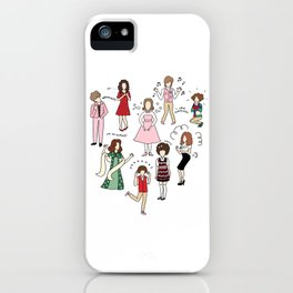 Kristen Wiig Characters iPhone Case