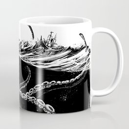 Kraken Rules the Sea Coffee Mug