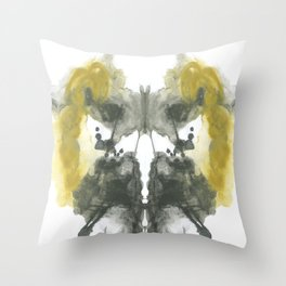 NEUE Inkblot Throw Pillow