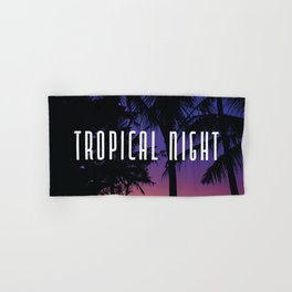 Tropical Night. Hand & Bath Towel