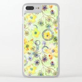 Flower waltz. Clear iPhone Case