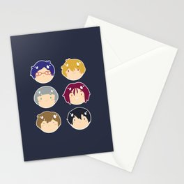 free! ball-faces Stationery Cards
