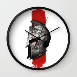 Helmet Spartan warrior Wall Clock