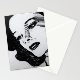 Old Hollywood Portrait #3 Stationery Cards